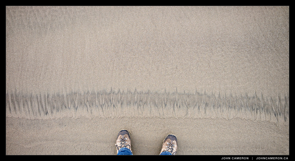 Line in the Sand, Cannon Beach