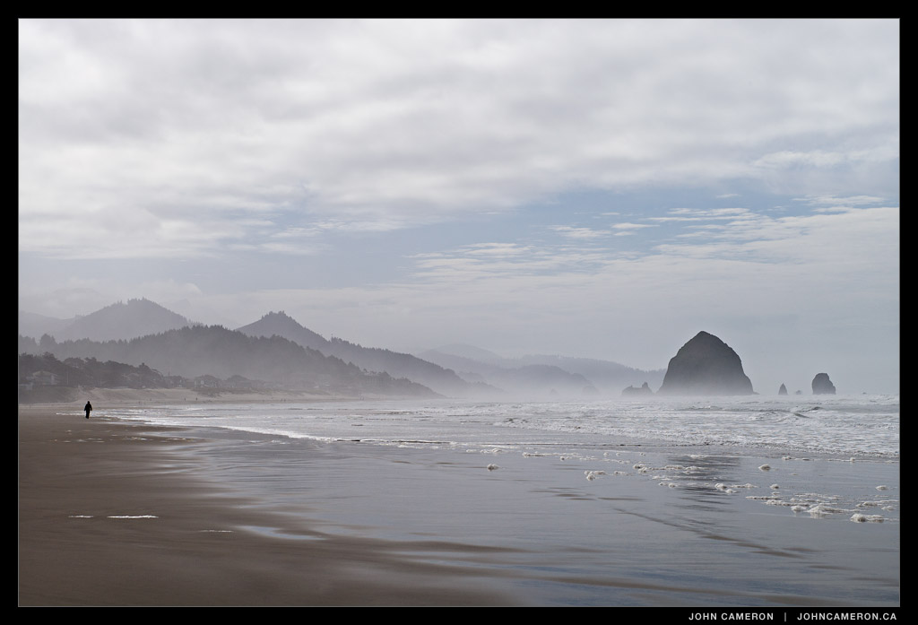 Cannon Beach from north of Ecola Creek