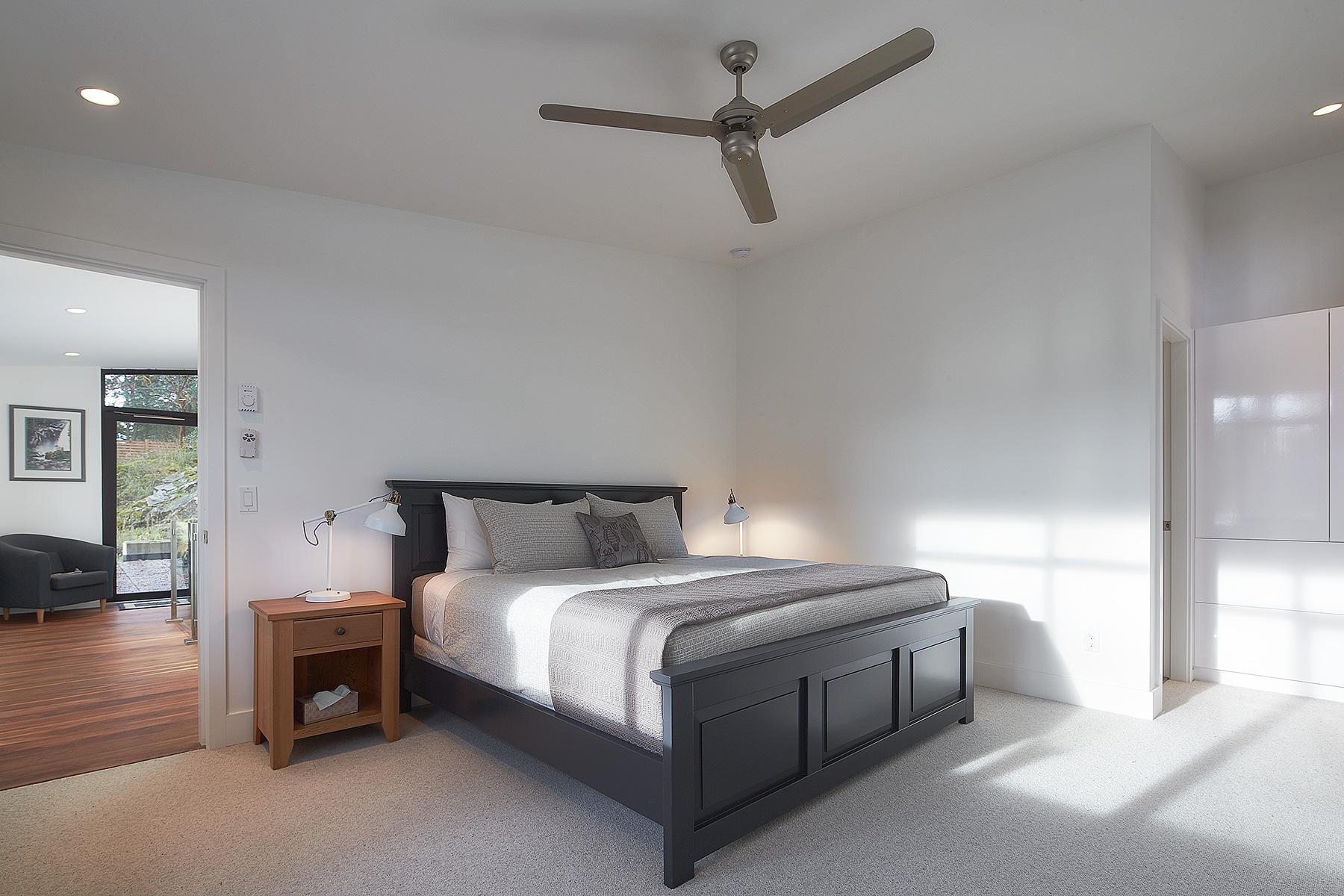 Interior: guest bedroom