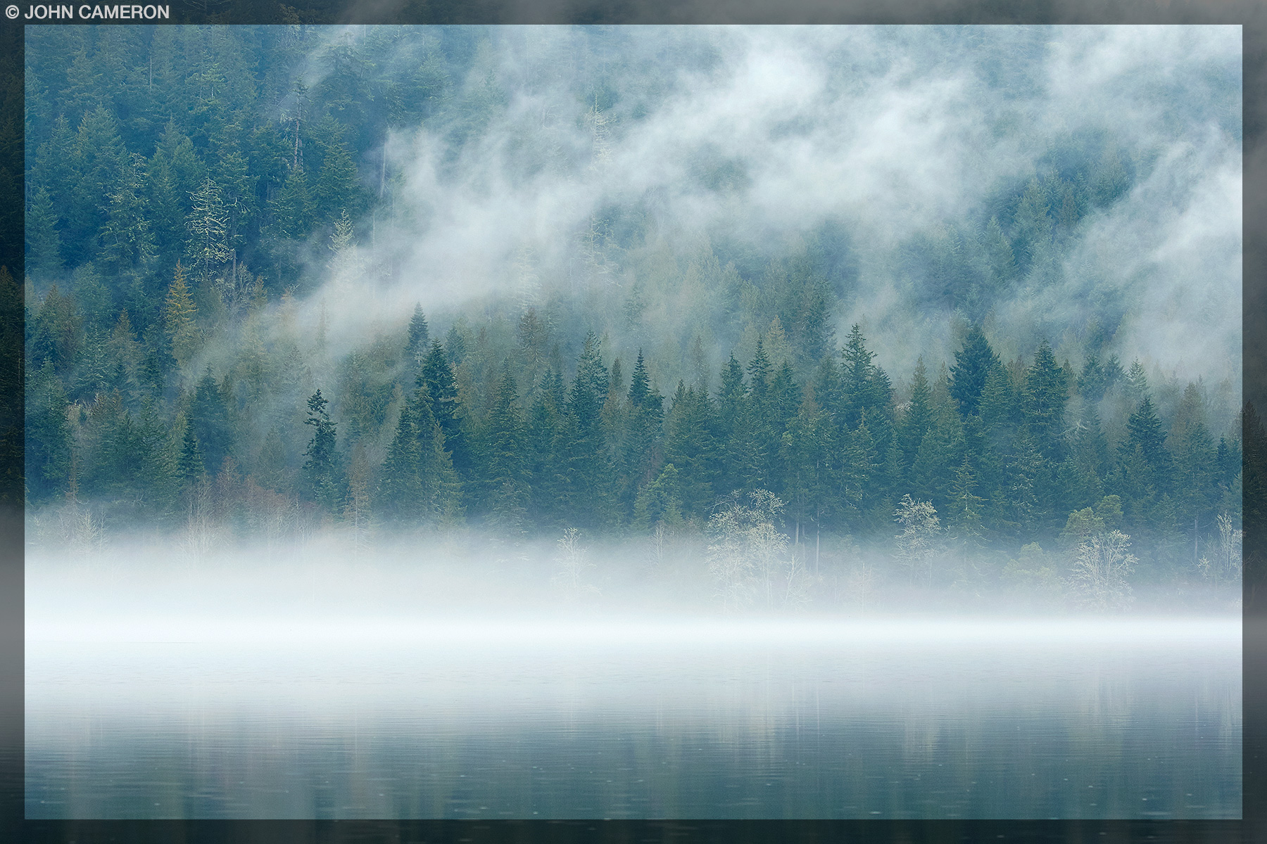 Low Cloud on St. Mary Lake