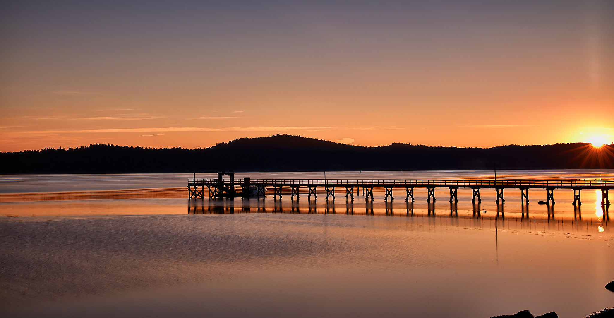 Fernwood Pier, Autumn Sunrise