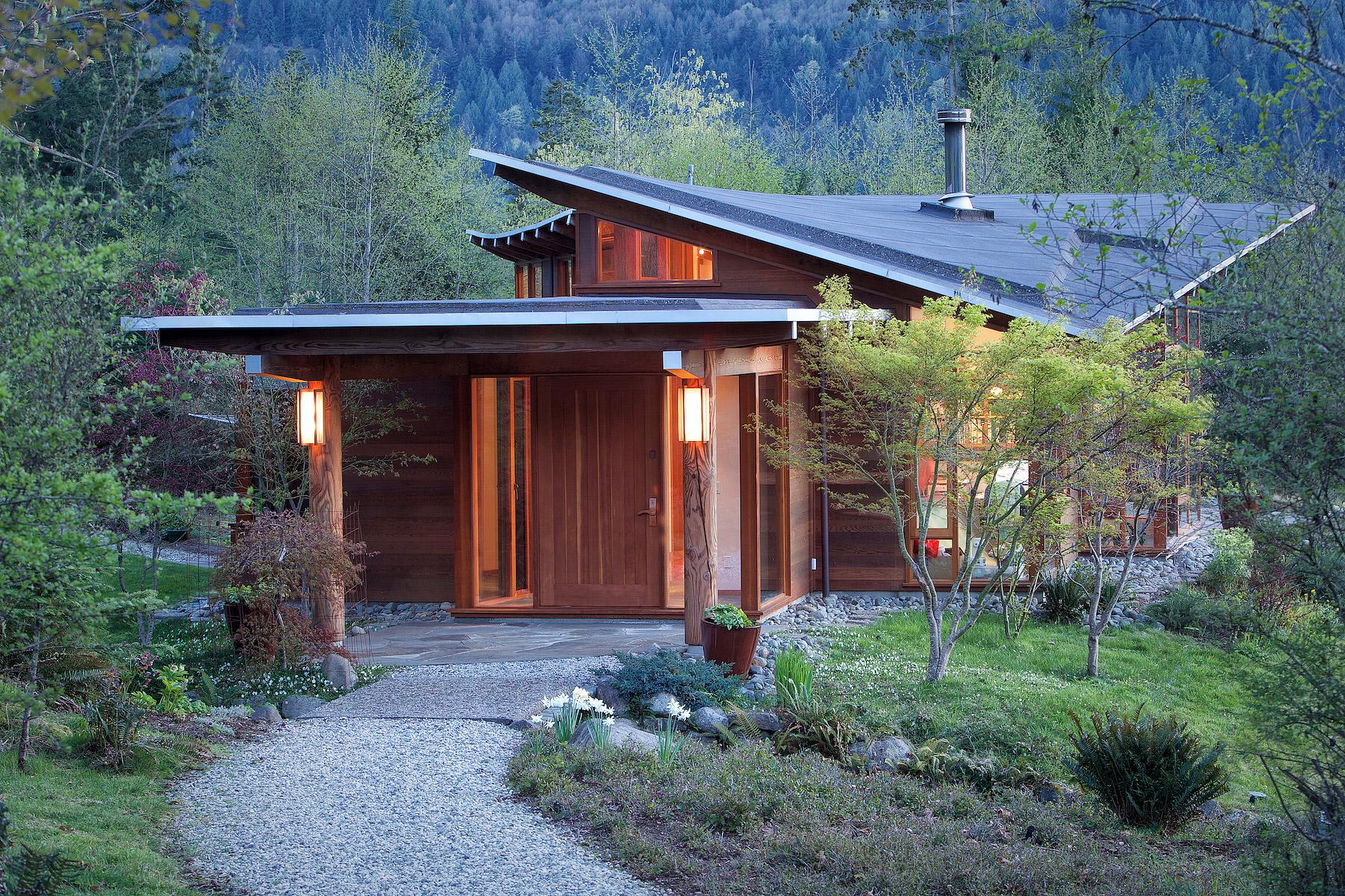 Exterior: Salt Spring home