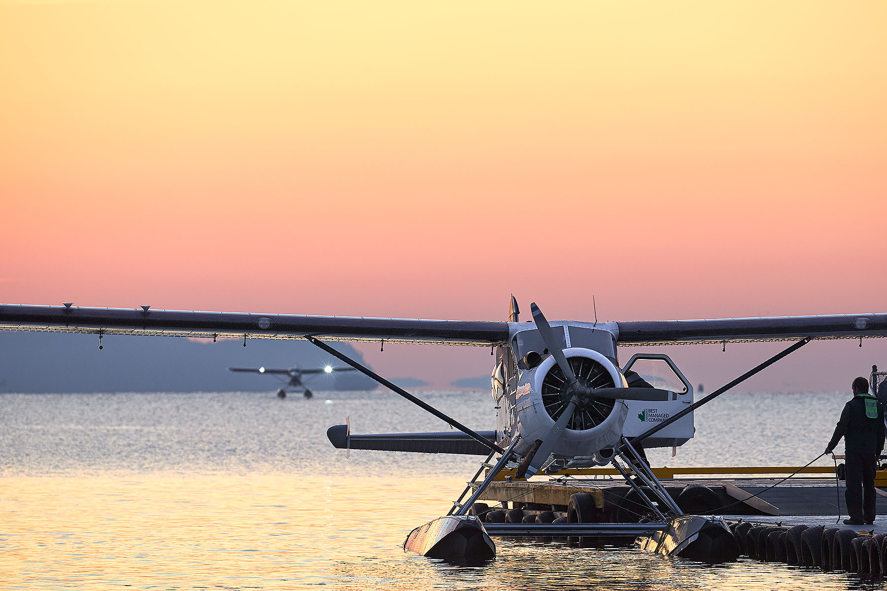 Ganges Aerodrome on Salt Spring Island ©johncameron.ca