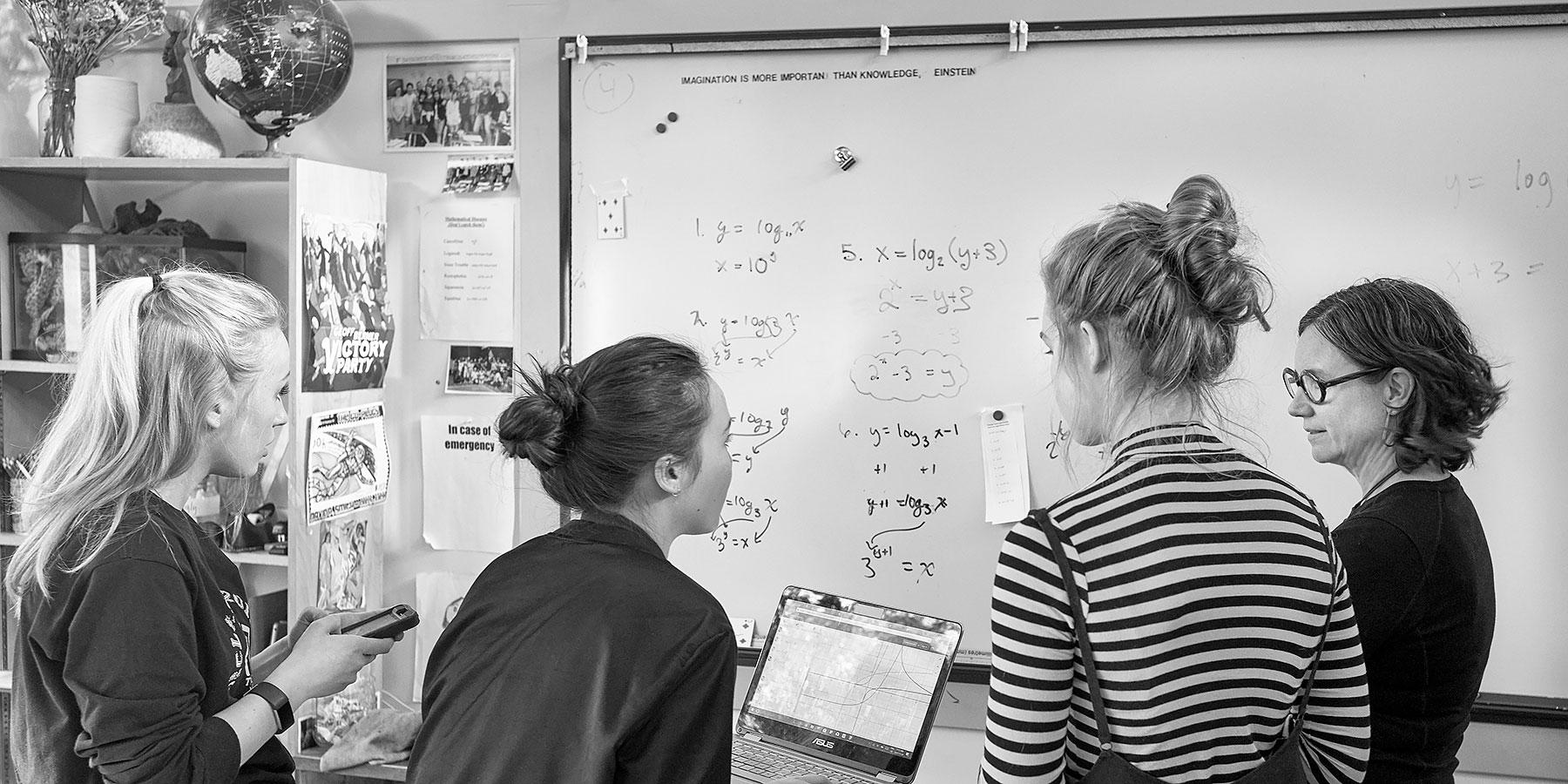 Senior Math At GISS ©johncameron.ca