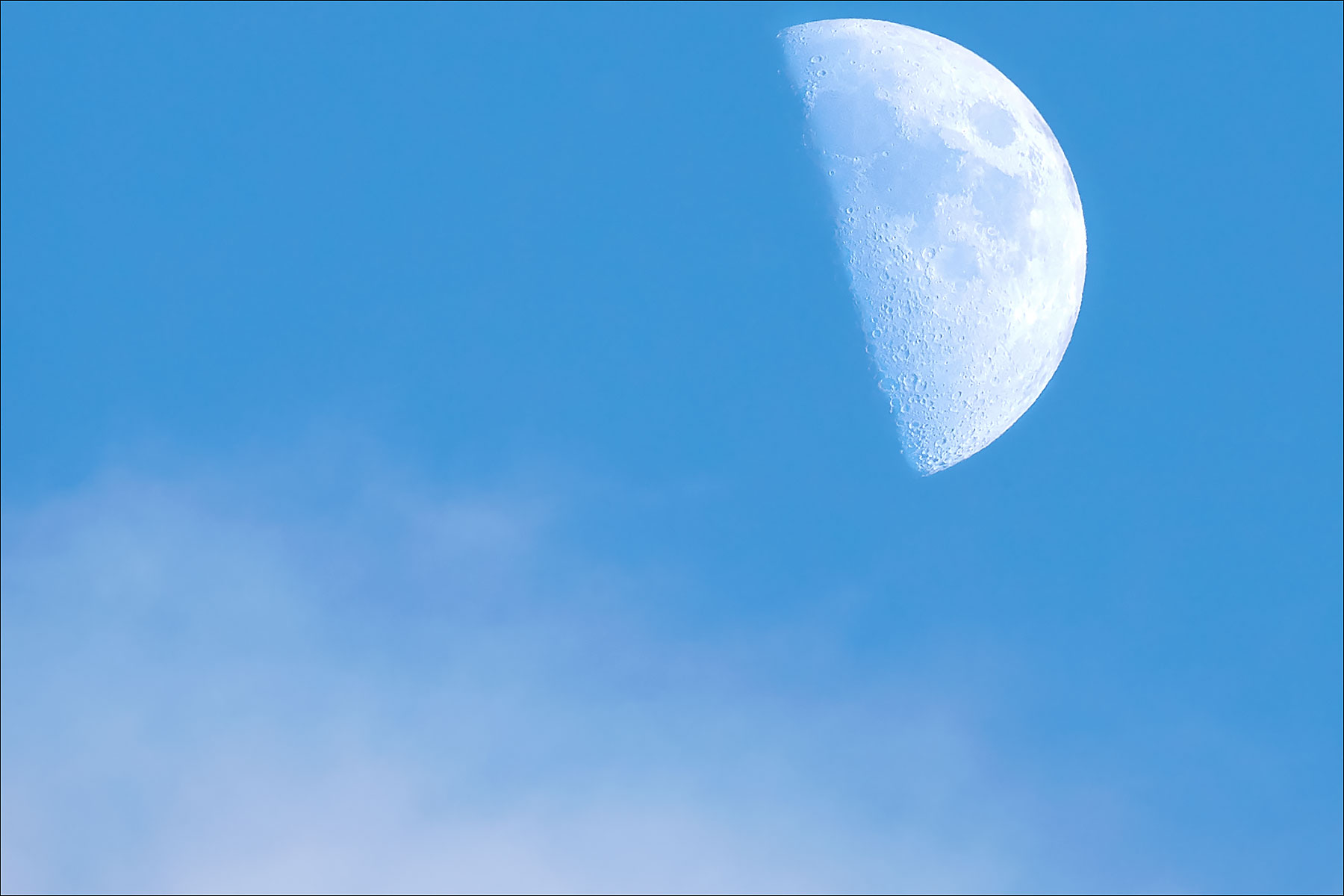 Blue Sky Moon © johncameron.ca