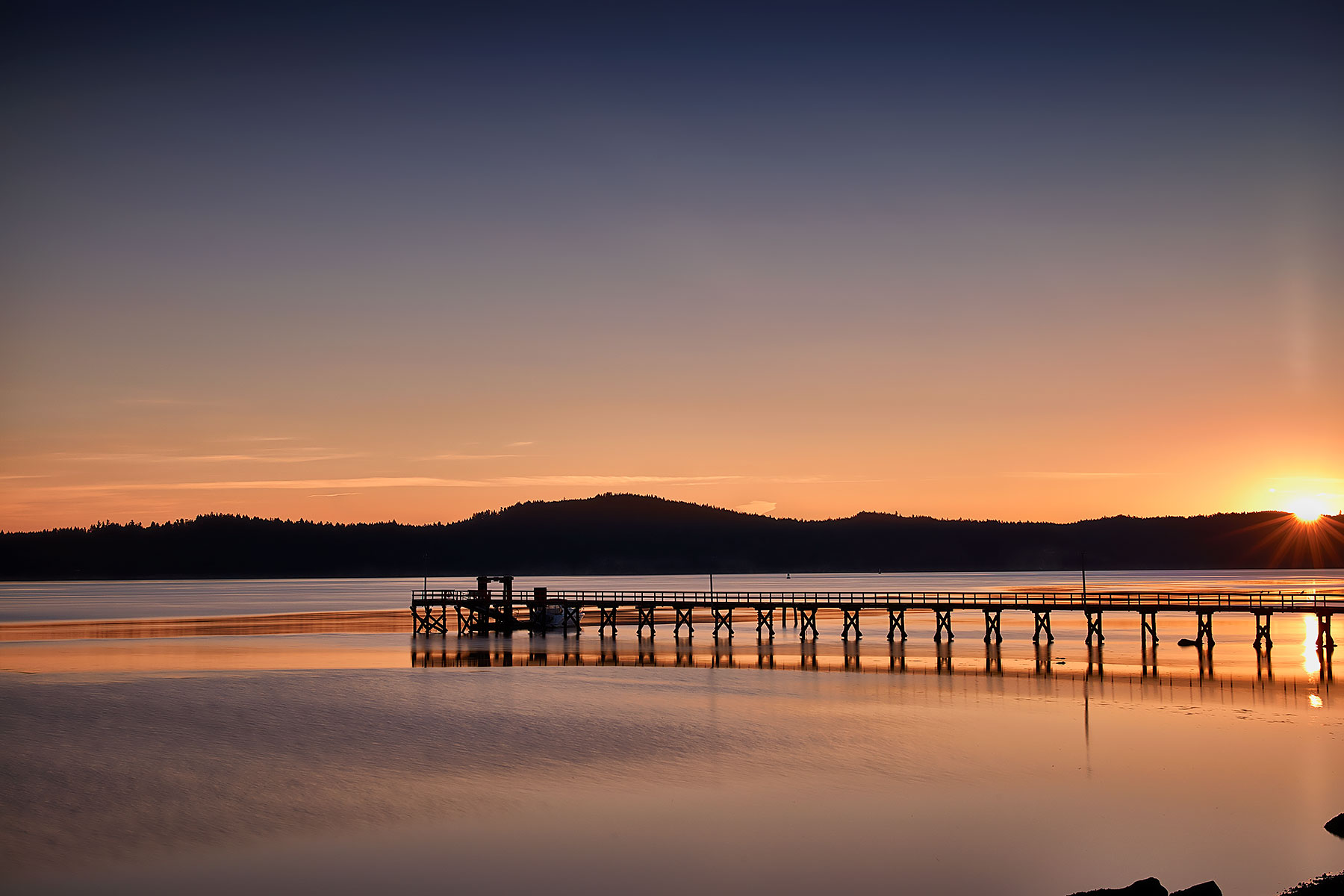 Fenwood Pier Sunrise ©johncameron.ca