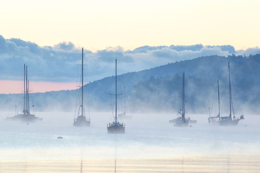 Ice Fog Harbour ©johncameron.ca