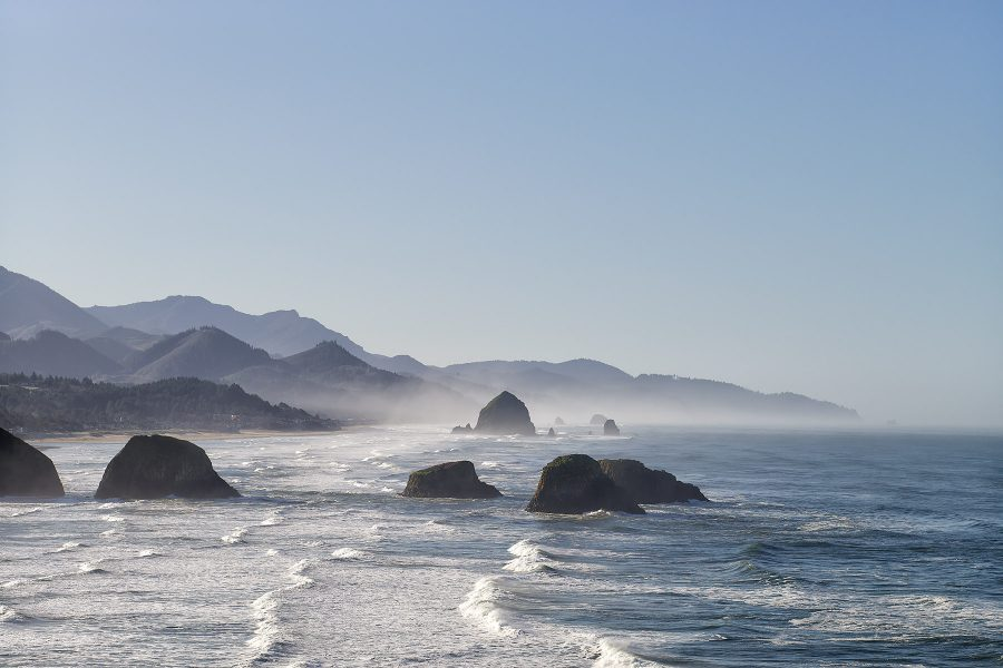 Sea Stacks near Cannon Beach, Oregon © johncameron.ca