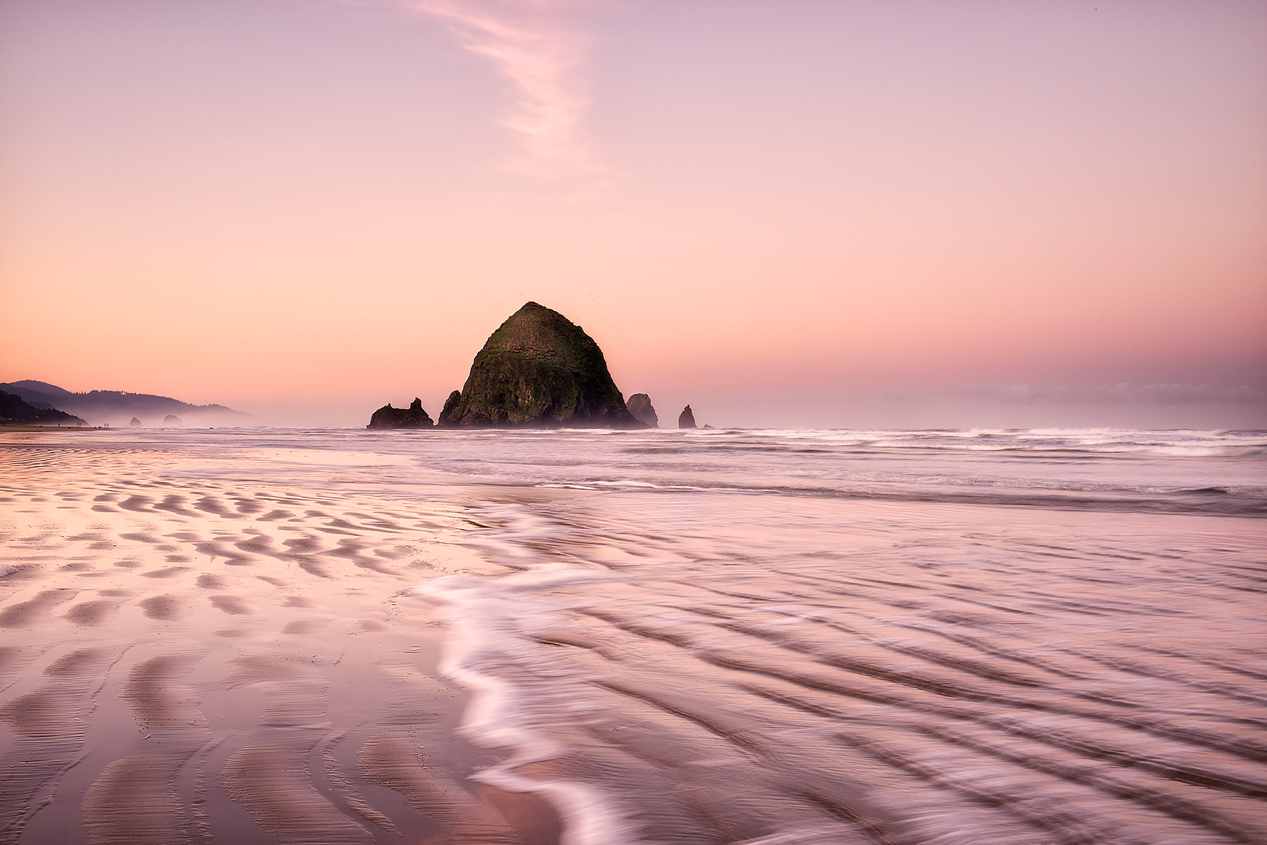Sea Stack at Cannon Beach, Oregon © johncameron.ca