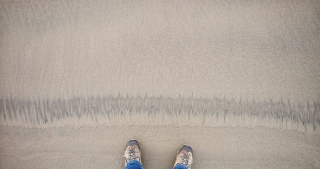 Line in the Sand ©johncameron.ca