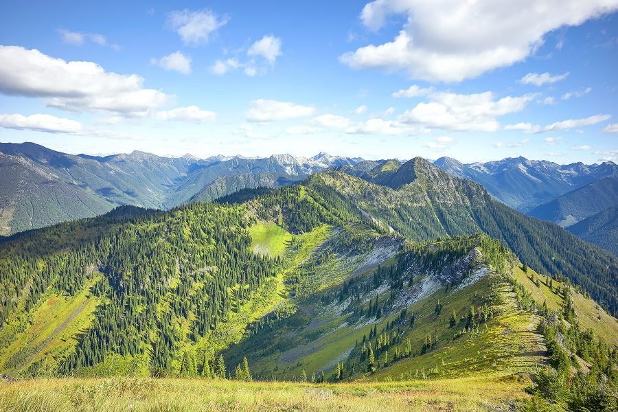 Idaho Peak Summit Trail Kootenays near Sandon and New Denver © johncameron.ca