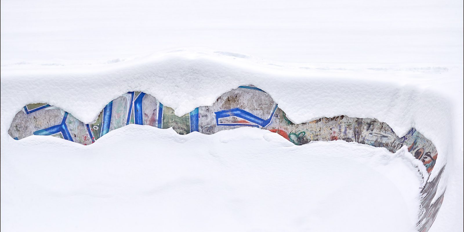 Snow Art on Salt Spring Island