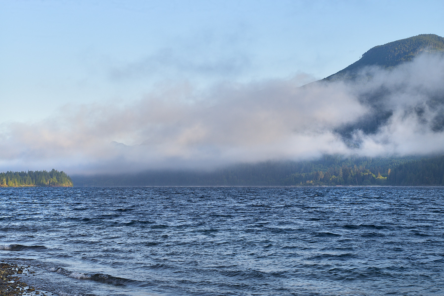 Cowichan Bay from Nixon Creek Recreation Site ©johncameron.ca