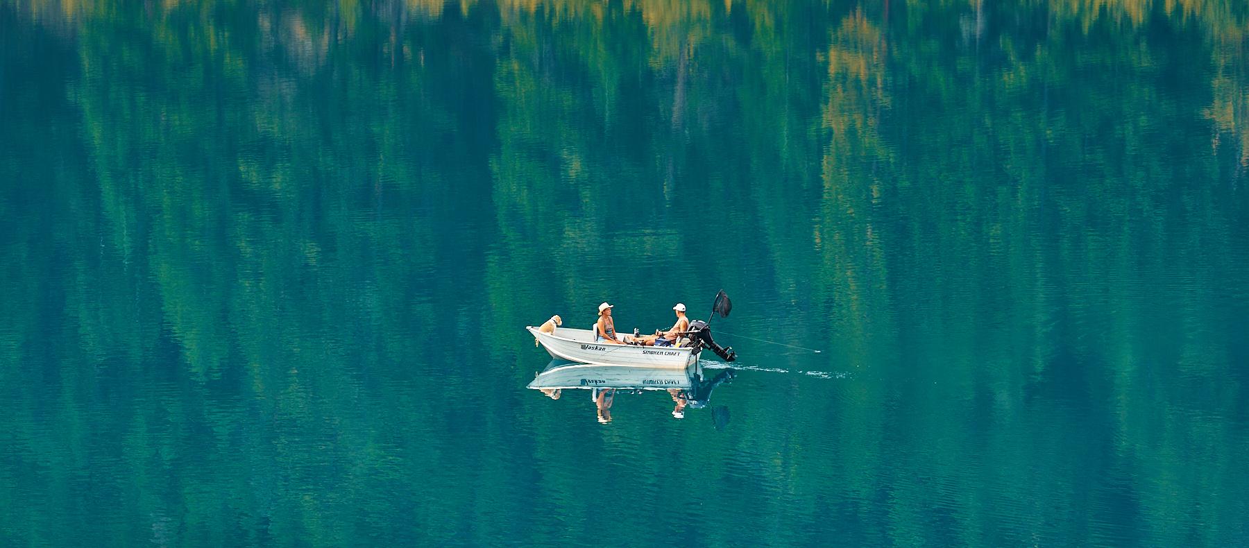 Greens of Alleyne Lake near Merritt BC © johncameron.ca