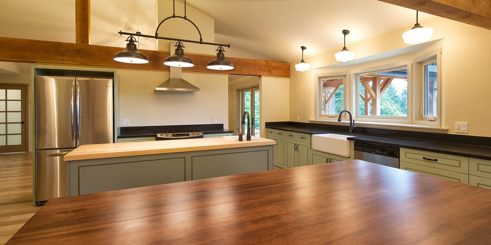Salt Spring Farm Kitchen