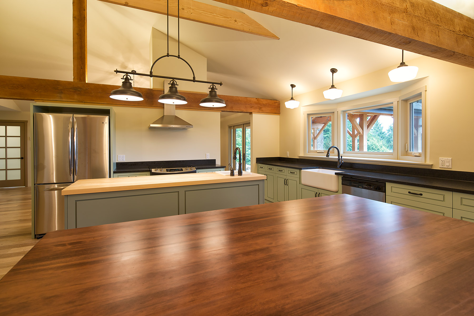 Salt Spring Island Farm Kitchen Renovation ©johncameron.ca