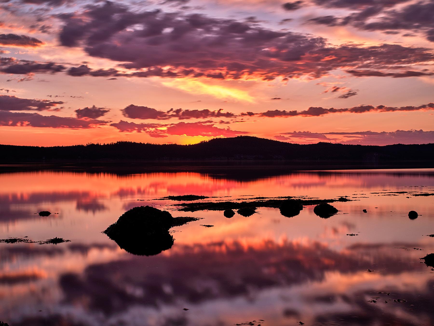 Galiano island from Salt Spring Island ©johncameron.ca